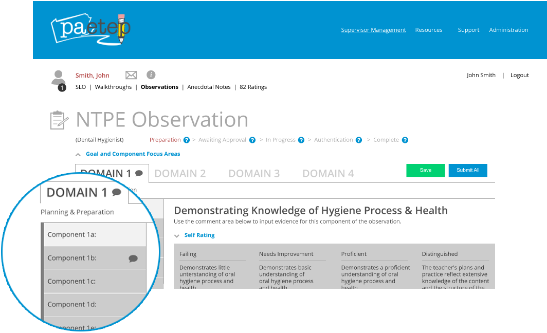NTPE Observation Comment Feature Image